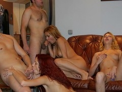 Oh yeah, those sexy college angels know how to throw a first-class fuck party that'll blow your mind!